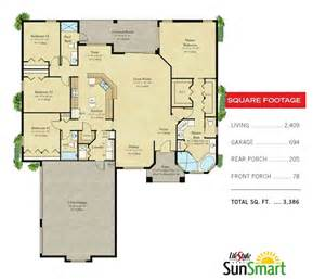 Lifestyle Homes Floor Plans Lifestyle Homes Featured Home The St Croix With Side