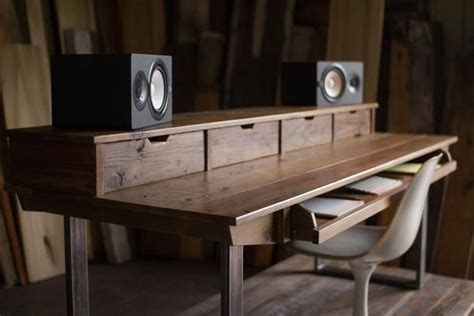 oak studio desk reclaimed 88 key studio desk for audio