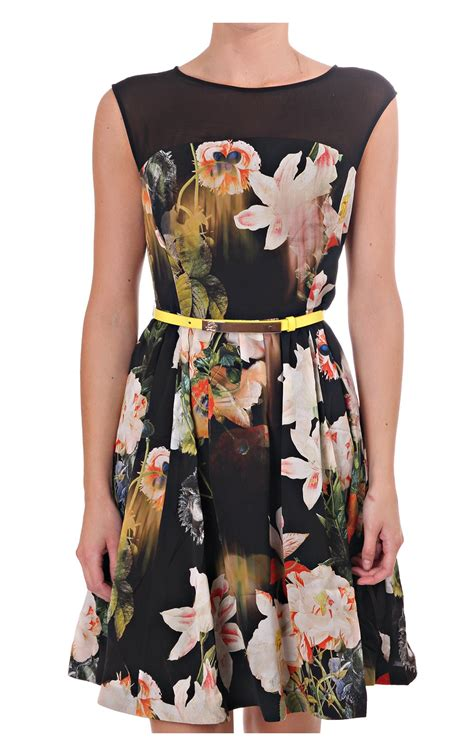 Ted Baker Opulent Bloom ted baker cameela opulent bloom dress blueberries blackpool