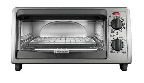 Silver Toaster Oven Black Decker To1332sbd Black Silver 4 Slice