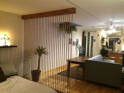 Rope Room Divider 7 Best Rope Wall Room Divider Images On Pinterest Front Windows Manila Rope And Dining Area