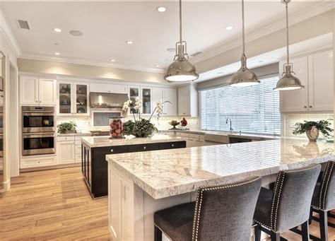 high end kitchens designs family home with coastal transitional interiors home bunch interior design ideas