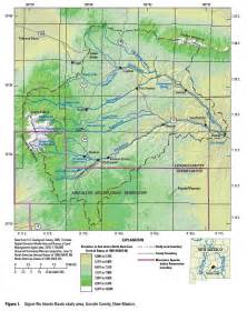 hondo map usgs new mexico water projects lincoln county