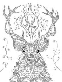 reindeer coloring page christmas easter coloring pages