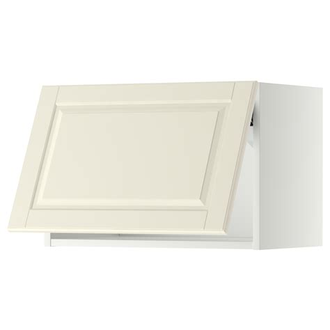 Ikea Horizontal Kitchen Cabinets Metod Wall Cabinet Horizontal White Bodbyn White 60x40 Cm Ikea