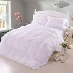 achetez en gros blanc dentelle couvre lit en ligne 224 des