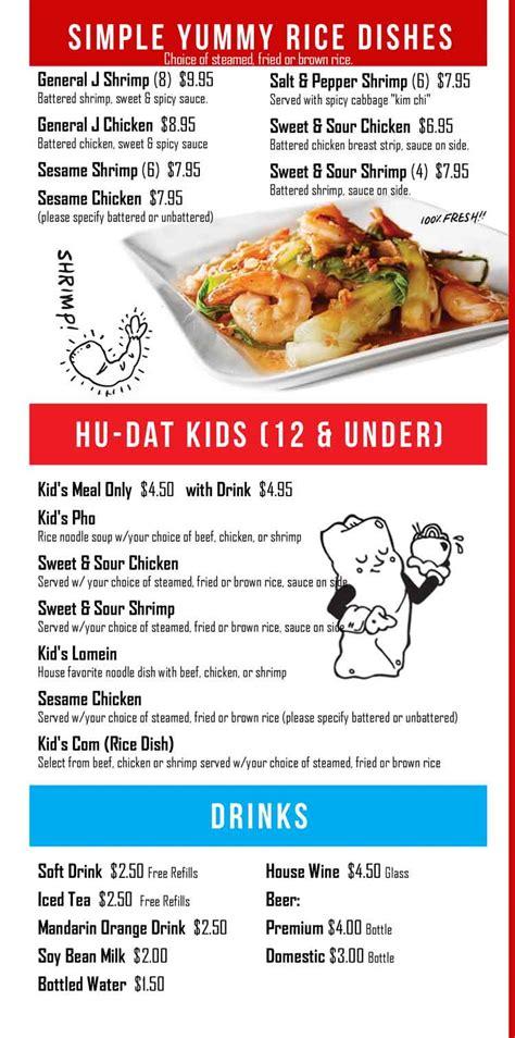 dat menu hu dat noodle house restaurant d lounge sushi bar in corpus christi