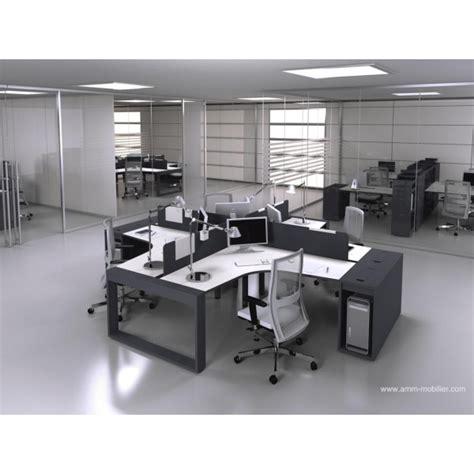 configuration bureau bureau op 233 ratif 90 degr 233 s logic noir et blanc