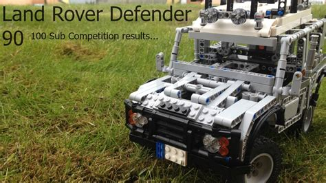 lego technic land rover defender 90