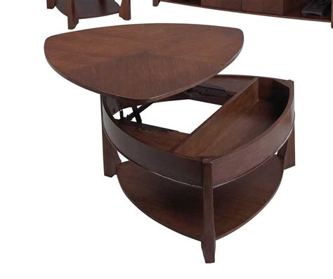 Catnapper 878 Series Wedge Lift Top Cocktail Table 878 049 Wedge Coffee Table