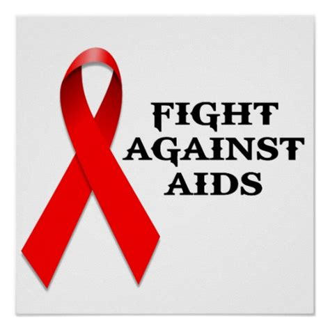 the of the one s fight against an unjust system books fight against aids poster zazzle