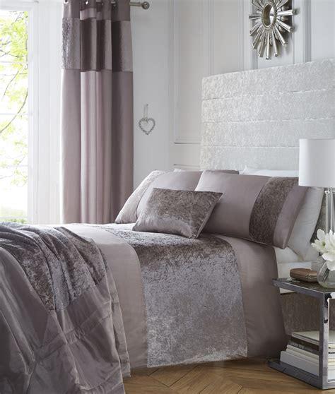 mink comforter luxury boulevard crushed velvet panel duvet quilt cover