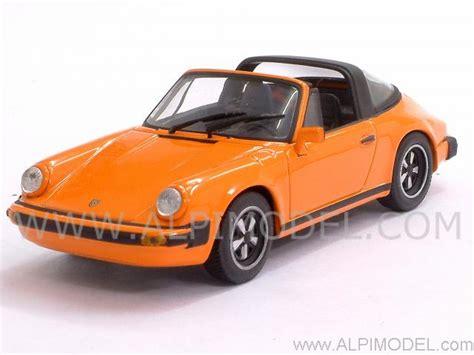 orange porsche targa minichs porsche 911 targa 1977 orange 1 43 scale model