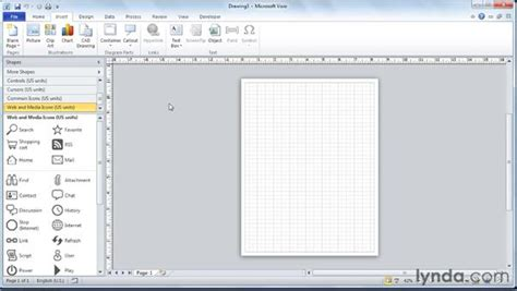 visio wireframe tutorial understanding the collections of stencils for wireframe design