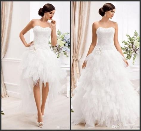 2 In 1 Brautkleid by 2015 Sweetheart Gown Wedding Dresses With Detachable