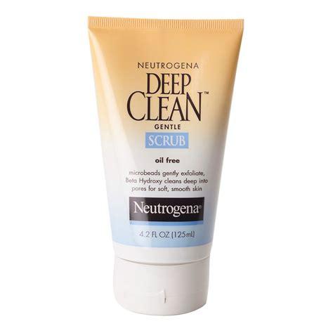 deep cleaning buy deep clean gentle scrub 125 ml by neutrogena online