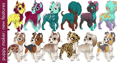 puppy creator new puppy maker features by dolldivine on deviantart