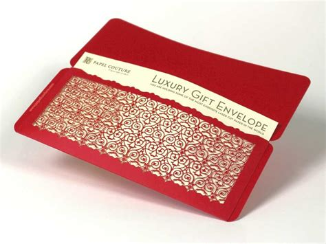 Custom Gift Card Envelopes - custom design laser cut gift envelopes and gift card holders