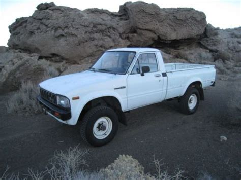 1983 Toyota Hilux For Sale Purchase Used 1983 Toyota Hilux 4x4 Original