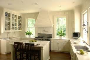 great cottage kitchen ivory walls and cabinets marble counters beadboard wall kitchens and