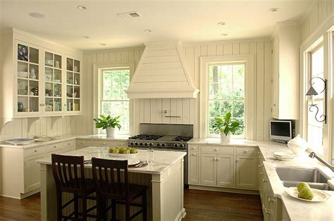 Ivory Kitchen Cabinets Cottage Kitchen Litchfield Ivory Colored Kitchen Cabinets