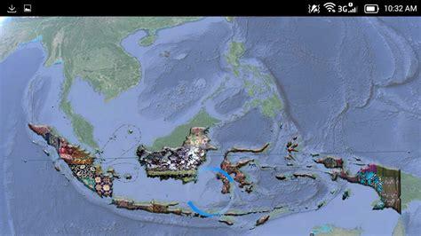 Motif Batik Peta Indonesia belajar batik dari aplikasi quot peta batik indonesia