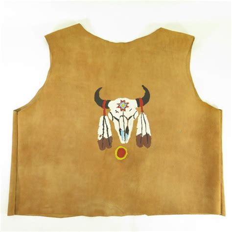 Handmade Mens Clothing - southwestern handmade suede vest mens xl american