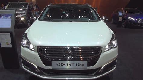 peugeot 508 interior 2017 peugeot 508 sw gt line 1 6 thp 165 s s eat6 2017