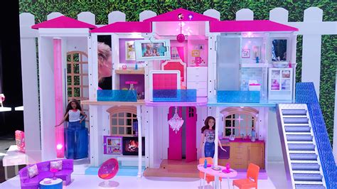 buy barbie dream house barbie now has an entire smart dream house that responds