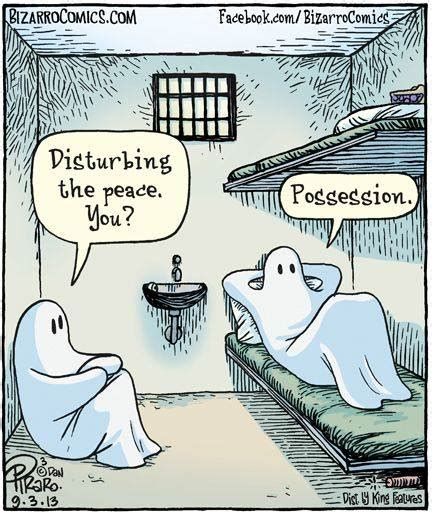 ghost jokes i laughed in my head