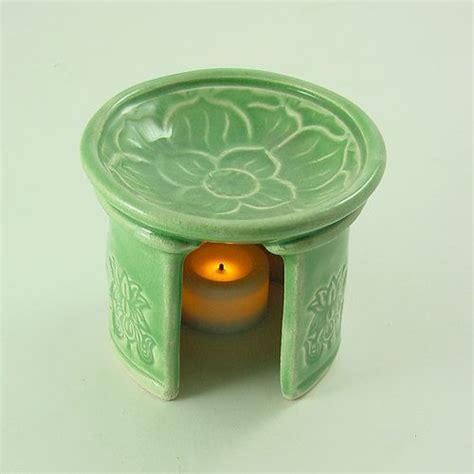 Ladari Design Aromatherapy Diffuser Lotus Essential Handmade Ceramic