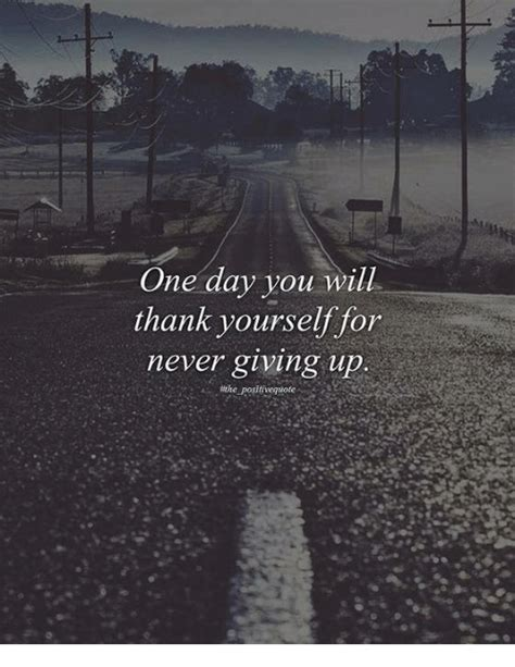 groundhog day you never thank me one day you will thank yourself for never giving up