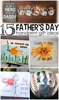 father s day handprint gift ideas from kids crafty morning