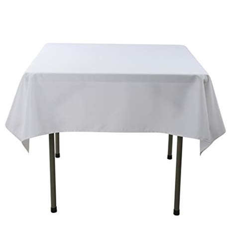 tablecloth for 54x54 square table lifetime 80273 fold in half square table 34 inch white