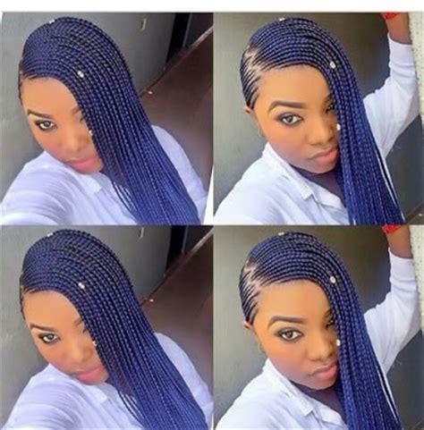 short weave hairstyles in ghana 2016 side ghana braid hairstyles for african women with