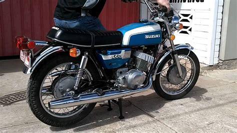 Suzuki T350 Rebel Yamaharetro Suzuki T350 1971