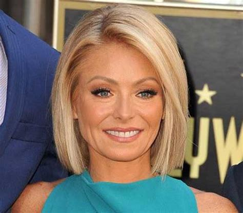 Pictures Of Kelly Ripas New Hairstyle | image gallery kelly ripa bob hairstyle