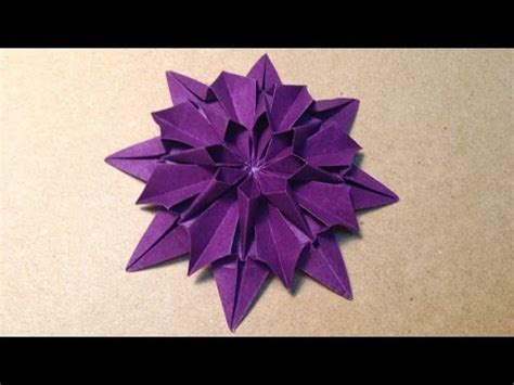 Origami Flower 100th - origami flower flor de papel 4 p 233 talos funnycat tv