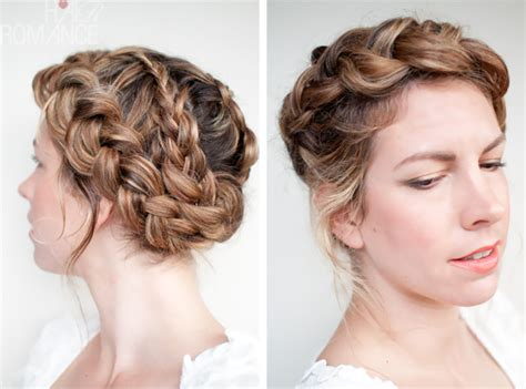 braided hairstyles layered hair a twist on an old braid hair romance