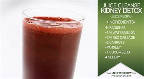 Is Detoxing For Your Kidneys by Juice Cleanse Recipe To Detox Your Kidneys