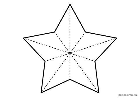 plantillas de estrellas de navidad para imprimir c 243 mo hacer estrellas de cartulina o papel grueso papelisimo