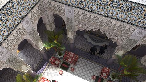 Moroccan Riad Floor Plan worldwide moroccan architecture and decoration services