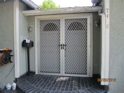 security screen doors mobile home security screen doors