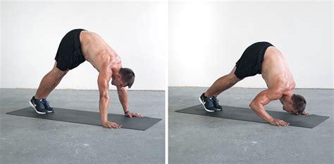 handstand bench shoulder shocking exercises