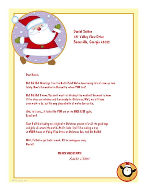 free printable postcards from santa quot greetings from santa quot christmas printable card blue