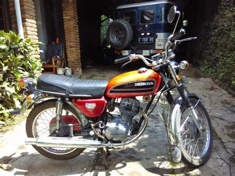 Jual Honda Cb Gl 125 Murah by Jual Honda Cb 125 Murah Bandung Automotivegarage Org