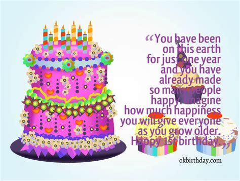 1st Birthday Quotes 1st Birthday Quotes For Girls Birthday Wishes Quotes