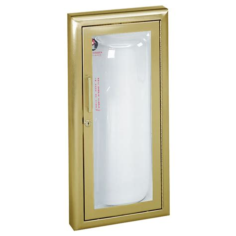semi recessed extinguisher cabinet semi recessed extinguisher cabinet jl industries clear