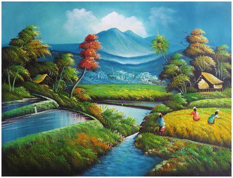 Lukisan Pemandangan Pantai image gallery lukisan pemandangan