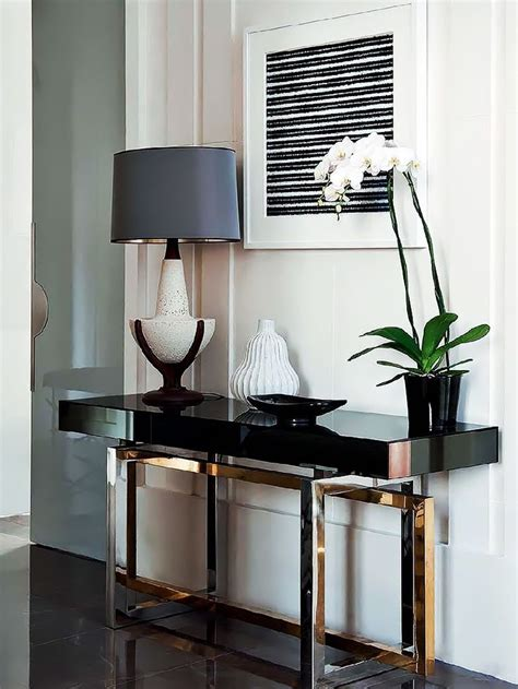 living room consoles the most stylish black consoles for living room